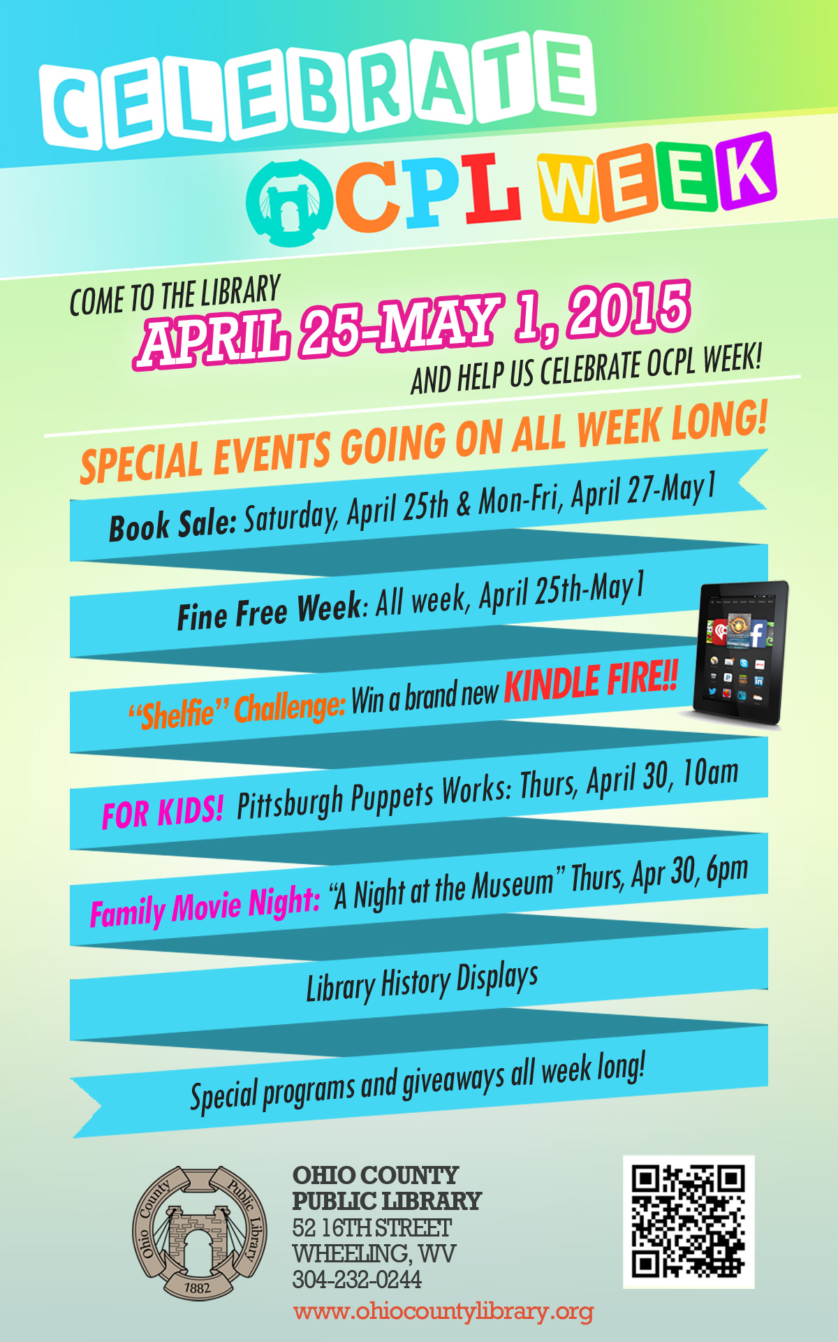 Celebrate OCPL Week!