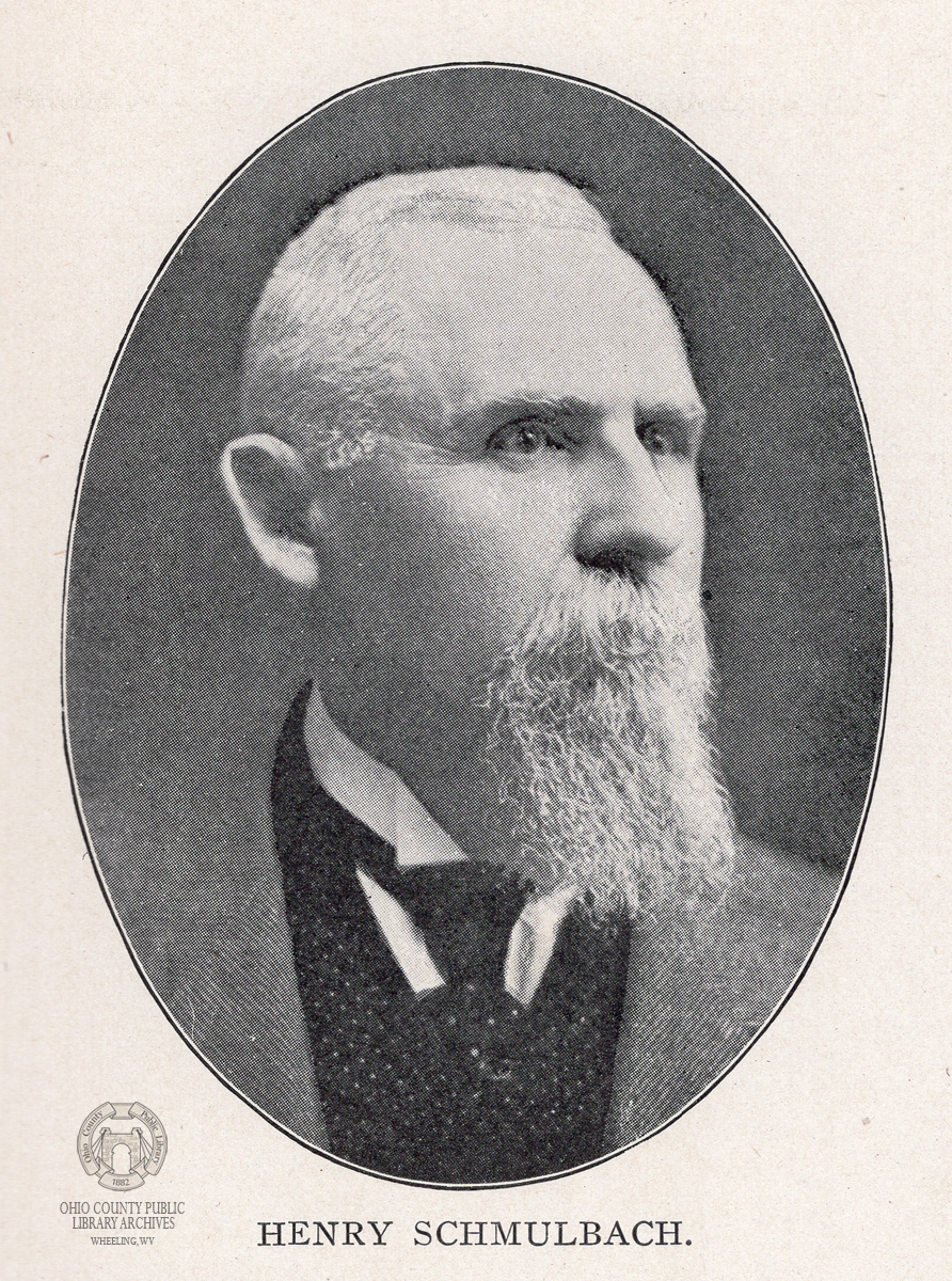 Henry Schmulbach. Image from Progressive West Virginians, 1905.