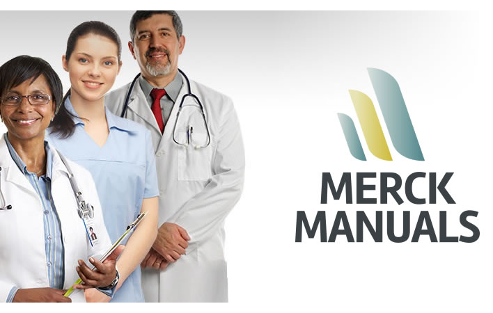 Merck Manuals - medical reference materials online