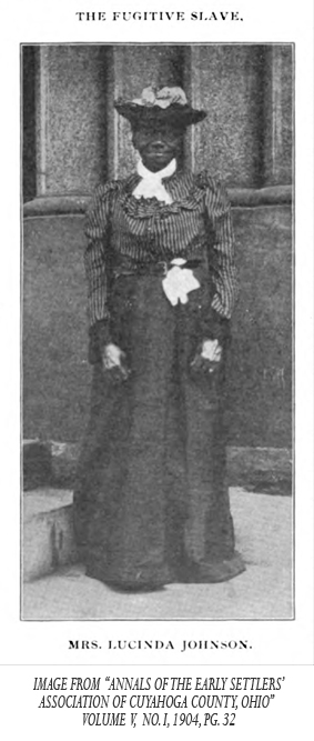 Sara Lucy Bagby, Mrs. Lucinda Johnson