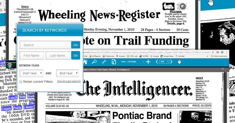OCPL Digital Newspaper Archives