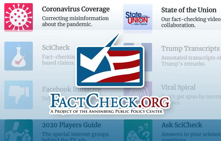 Factcheck dot org