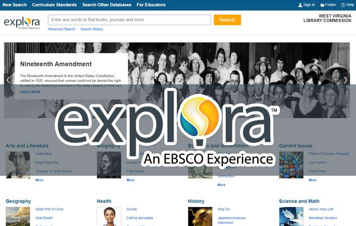 Ebsco Explora