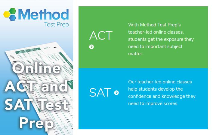 Method Test Prep - Online ACT and SAT test prep