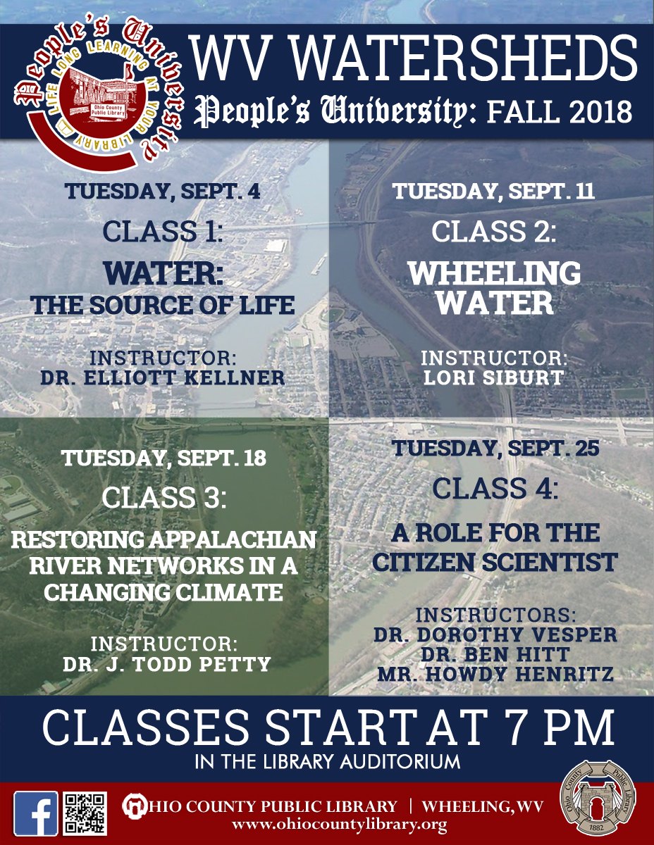 People's University, Fall 2018 - West Virginia Watersheds