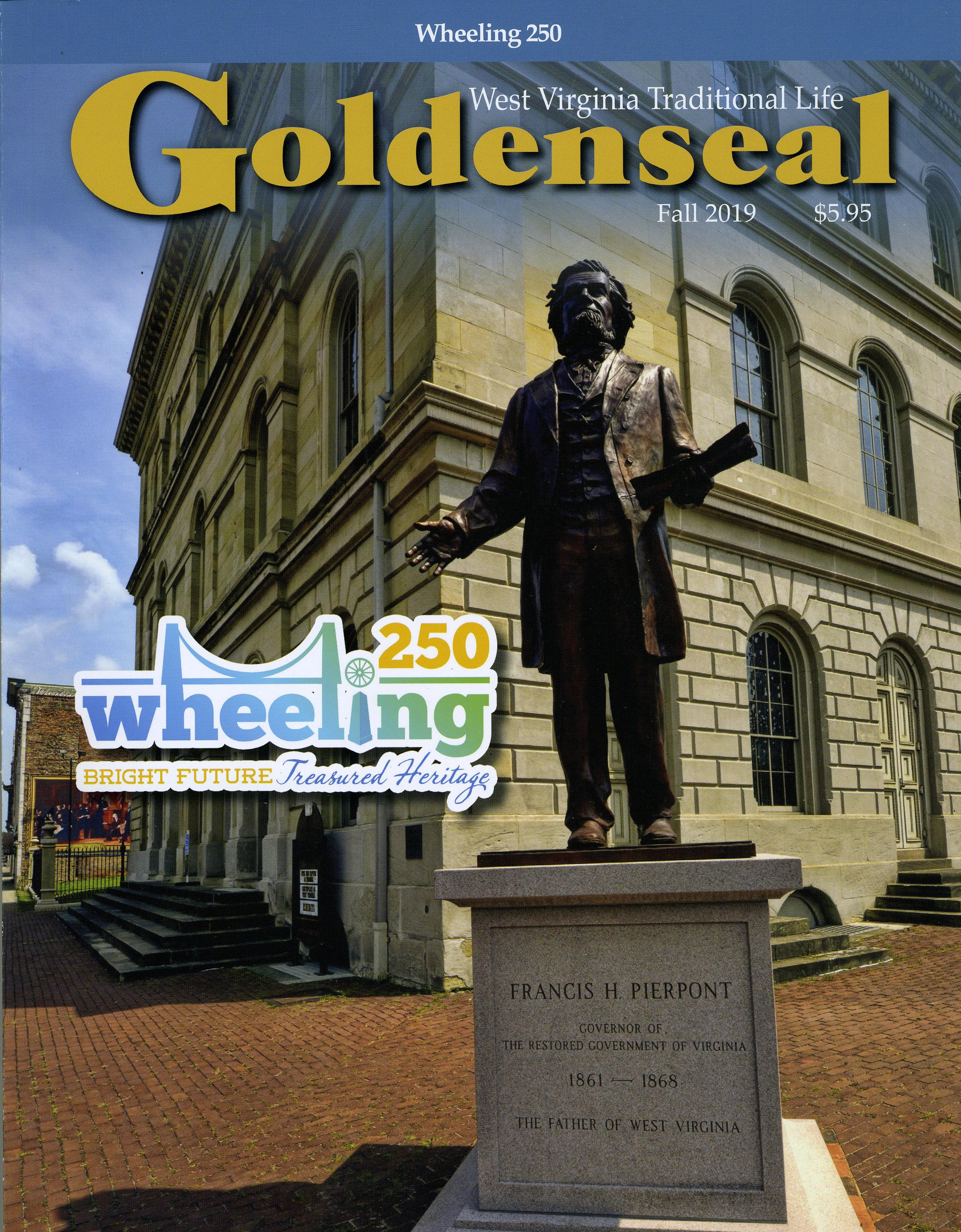 Goldenseal Magazine, Fall 2019