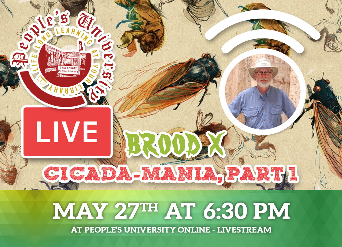 People's University, Bugs and People, Class 1 -  Cicada-Mania, Part 1