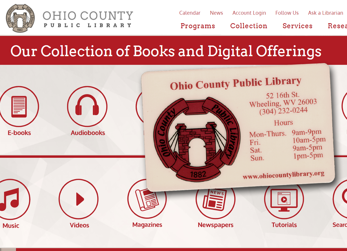 Access the OCPL's online collections with a temporary internet only card!
