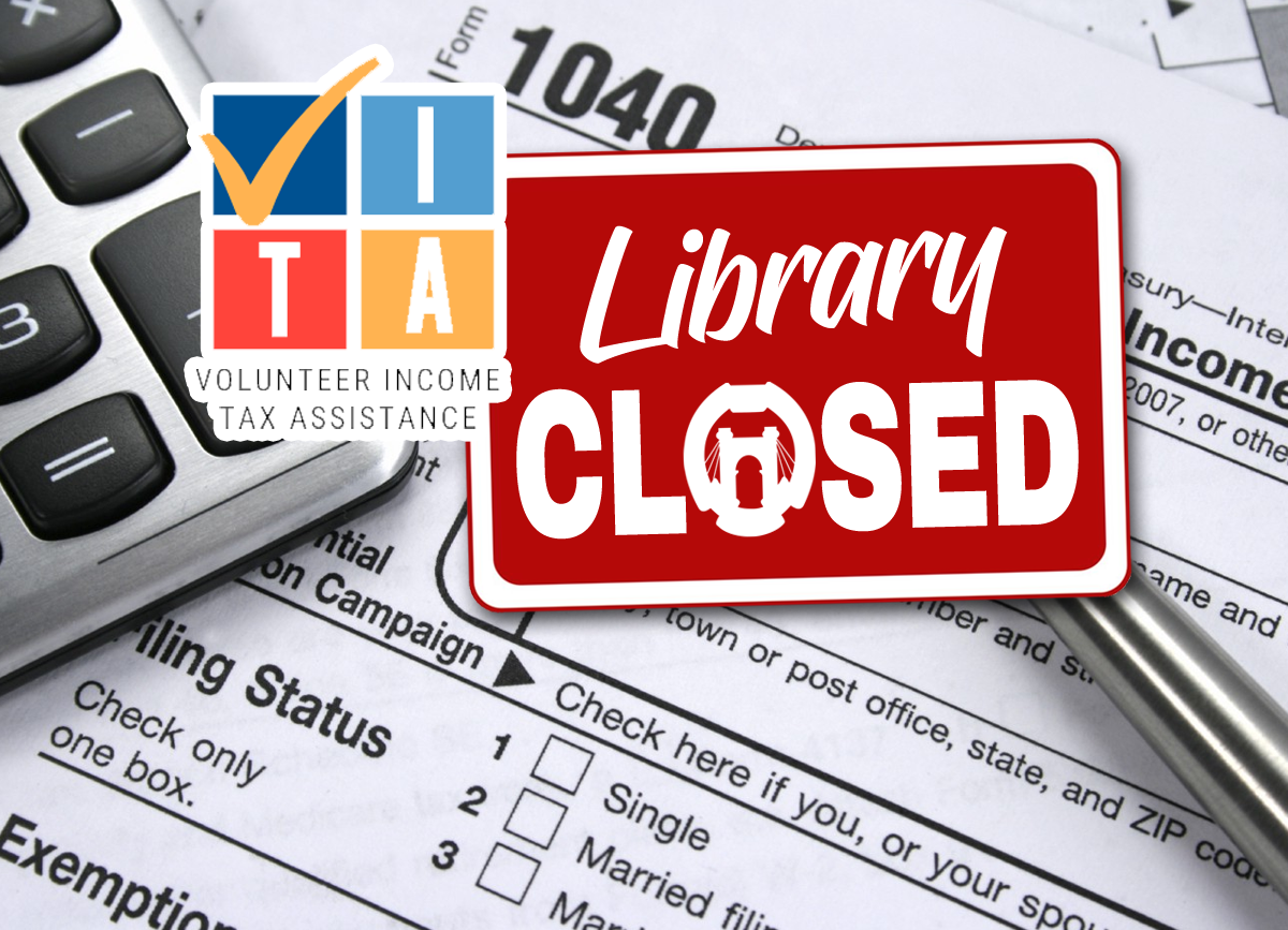 Featured Image: OCPL Press Release: VITA Tax Services Suspended
