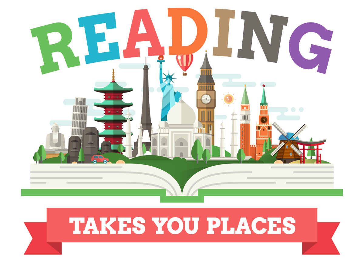OCPL Summer Reading Program 2020 - Reading Takes You Places