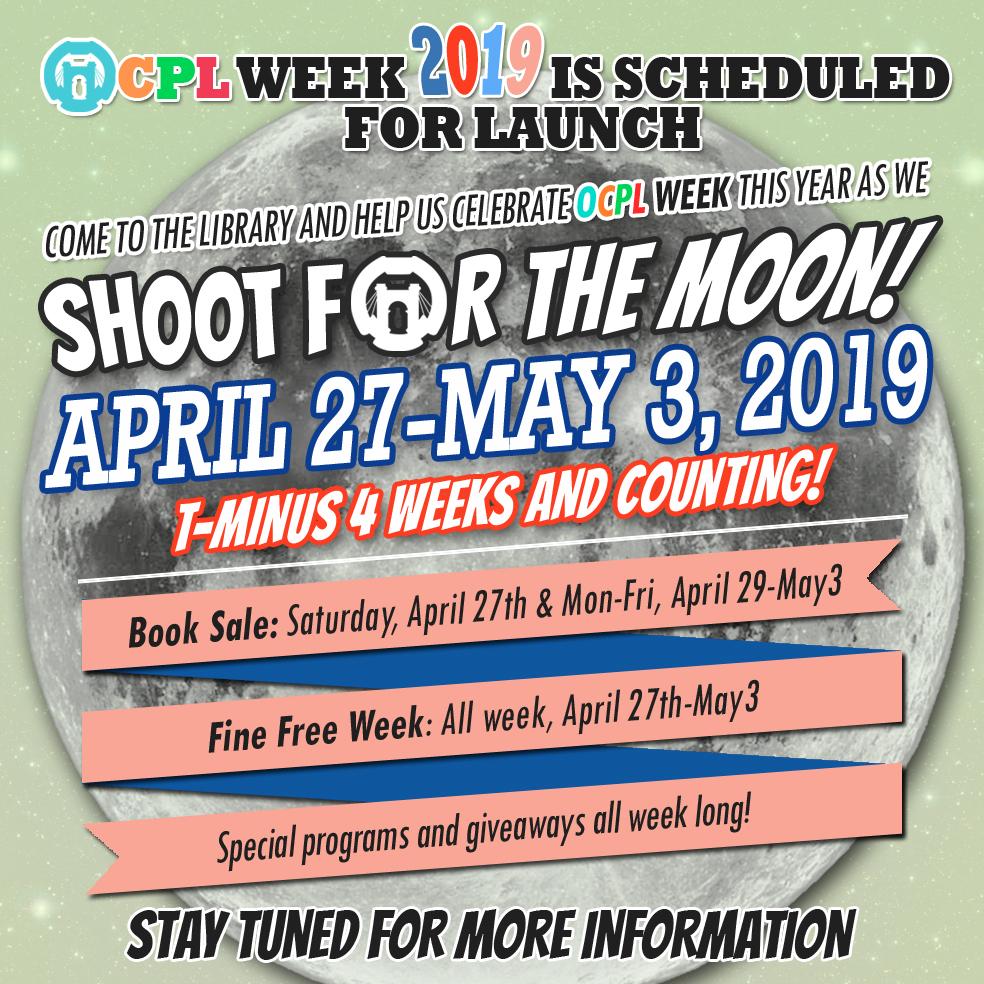OCPL Programming Calendar: March 2019