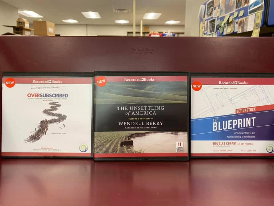 New audiobooks availabe at the Ohio County Public Library