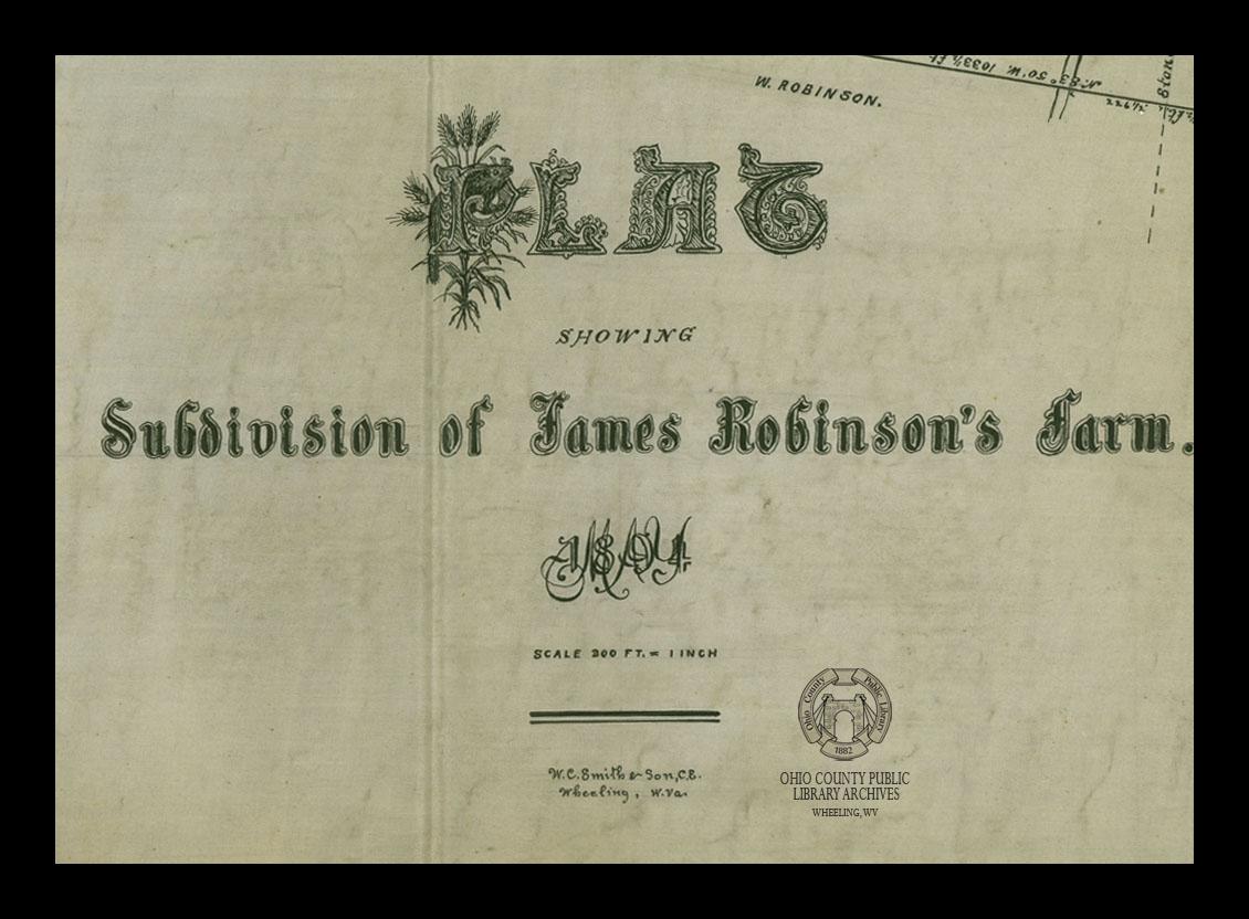 Robinson's Farm, 1894, C.C. Smith's Sons Engineering, Inc. records, OCPL Archives
