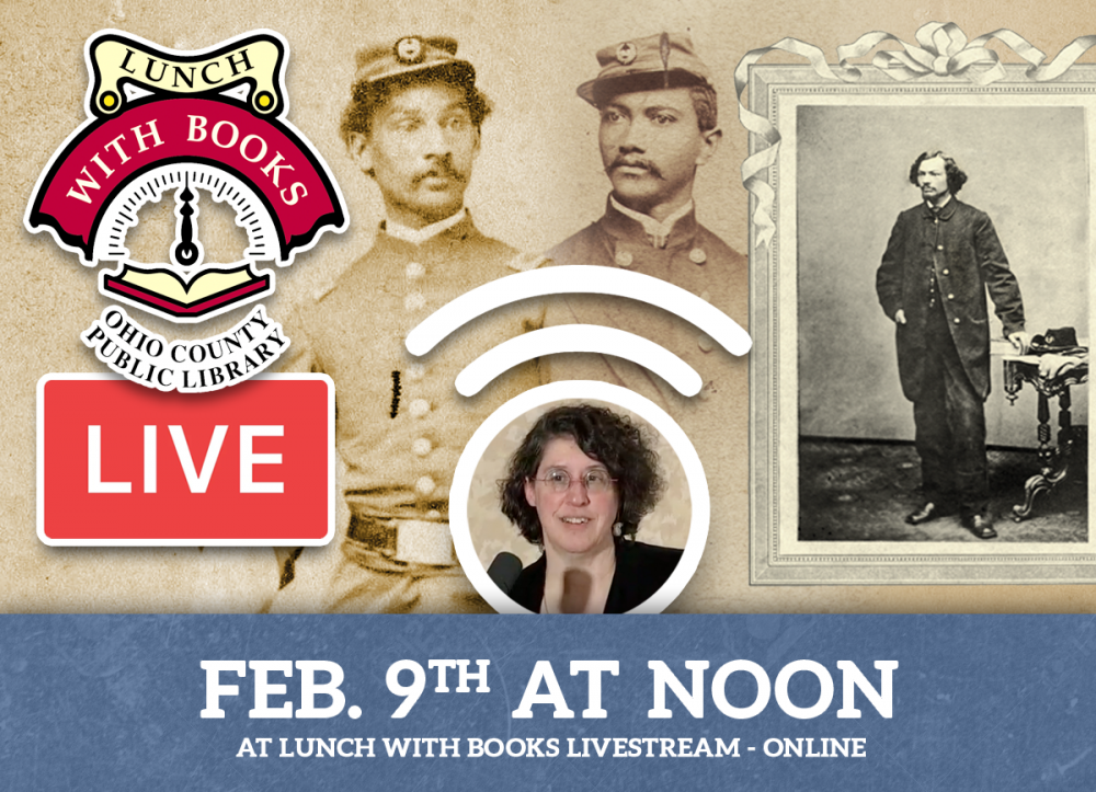 Lunch With Books Livestream Program for February 9