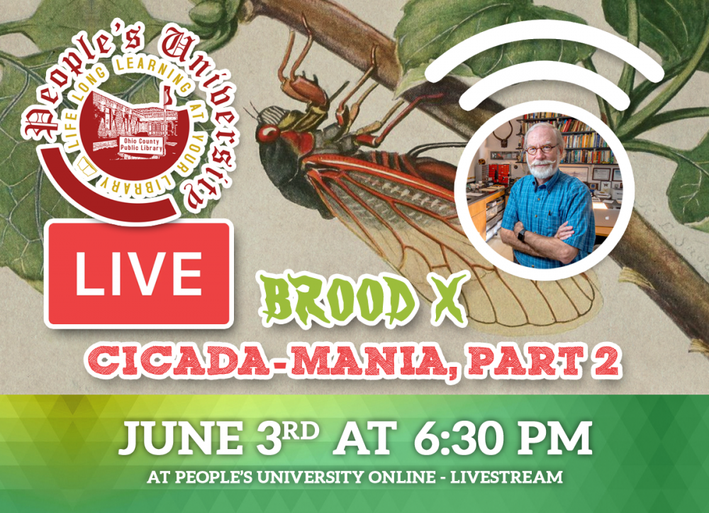 People's University, Bugs and People, Class 2 -  Cicada-Mania, Part 2