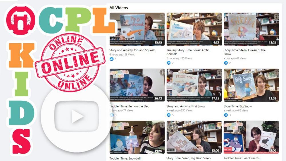 OCPL Kids Programs Online