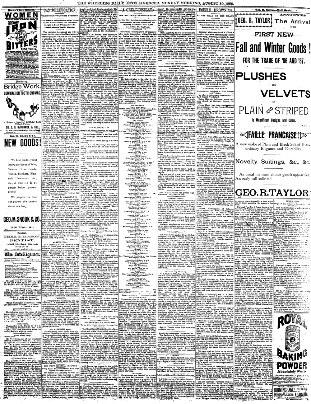 Wheeling Intelligencer, August 30, 1886, page 4