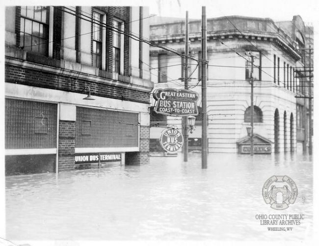 B&O Building, 1936 Flood