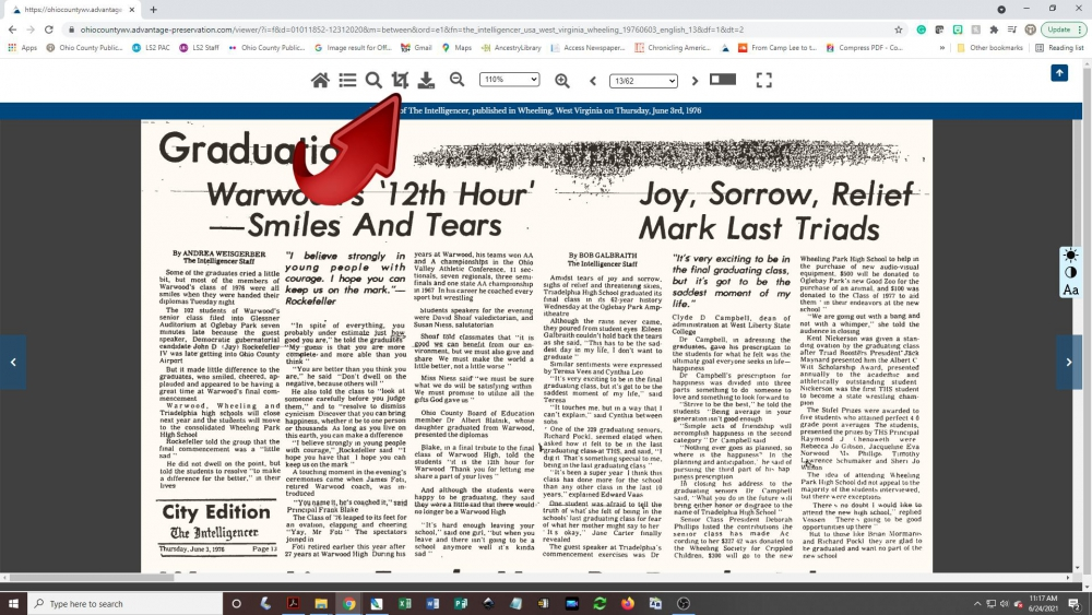 Creating a newspaper clipping - step 1: click on the crop tool icon