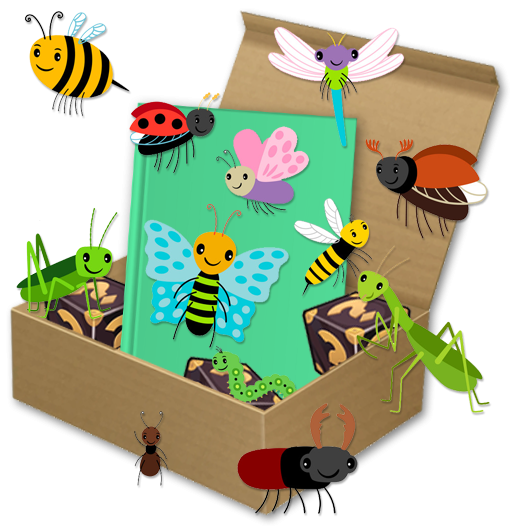April Reading Bug Story Time Box