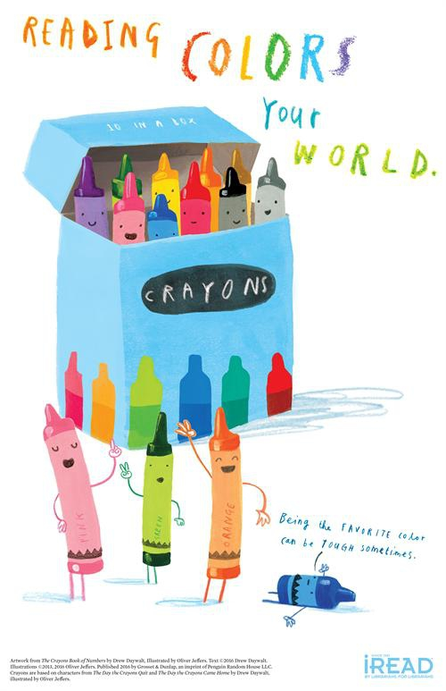 Summer Reading 2021: Reading Colors Your World
