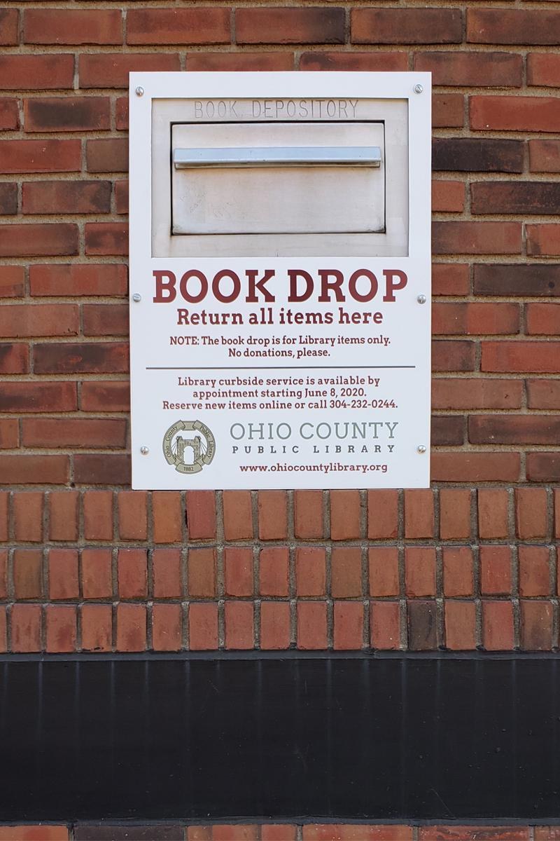 OCPL's Book Drop
