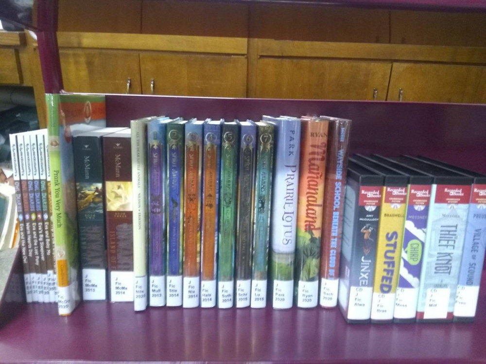 New releases available to reserve for curbside pick-up at the Ohio County Public Library