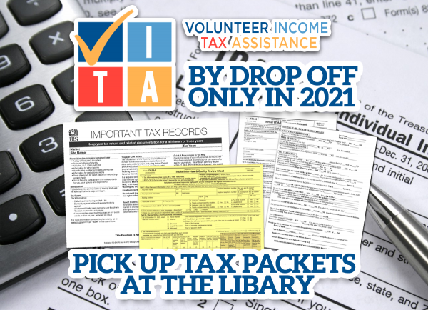 Tax Assistance Program Will Be Drop Off Only This Year