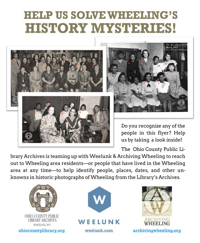 Wheeling History Mysteries, Volume One, Number 1 - February 2021