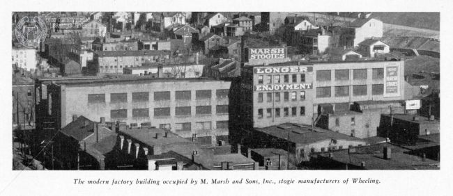 Marsh Stogie Factory, 1931