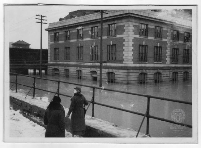 B&O Building, 1936 Flood