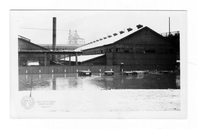 Wheeling Steel Company, Benwood, 1936 Flood