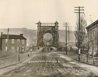 The Suspension Bridge from Virginia Street.