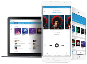 Download and stream music through Freegal