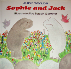 Sophie and Jack book cover. Author Judy Taylor.