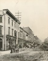 Main Street from 14th looking north. C. Hess, Bloch Brothers, and C. Berry, all had stores on this street.