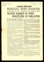 News-Register 1936 Flood Special Edition Handbill