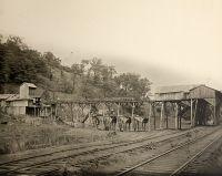 Coal tipple, Elm Grove Coal Mine.
