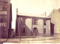 The Old County Jail, built in 1839, stood near 12th and Eoff Streets.