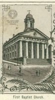 First Baptist on Byron St., Originally the 2nd St. Matthew's Church
