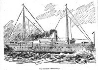 Engraving from the Wheeling Daily Intelligencer, January 23, 1897: Caption --The Gunboat Wheeling