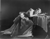 Eleanor Steber as Massenet's Manon in her Act 2 costume,
