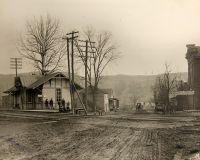 National Road Elm Grove B&O Railroad station.