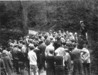 A.B. Brooks leads a nature walk at Ogelbay Park (courtesy Museums of Oglebay Institute).