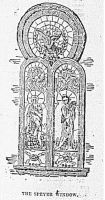 Engraving from the Wheeling Daily Intelligencer, March 29, 1892: The Speyer Window