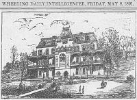 Illustration of Altenheim from Wheeling Daily Intelligencer, May 8, 1891