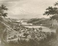 A 1849 engraving of the City of Wheeling from the Brown Photo Collection. To view more photos like this, visit the 'Historic Images of Wheeling' page.