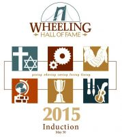 Wheeling Hall of Fame 2015 induction program cover.