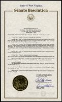 WV State Senate Resolution recognizing the achievements of the late John J. Young, Jr.