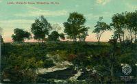 Postcard: Lewis Wetzel Cave. OCPL Archives Postcard Collection.